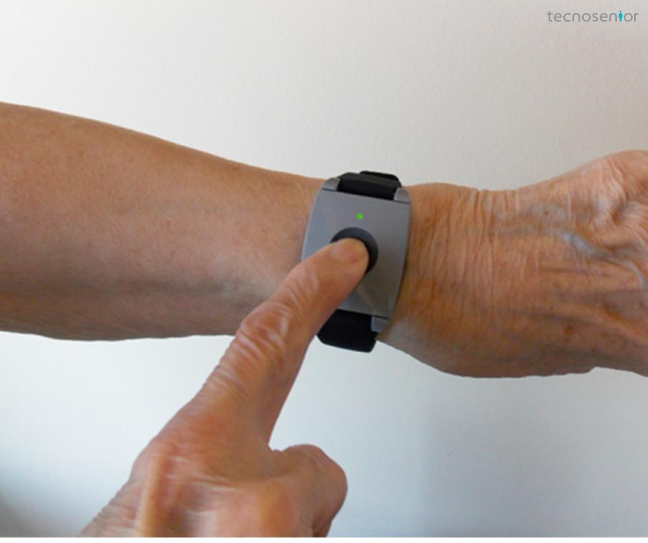 pulseira alarme para idosos