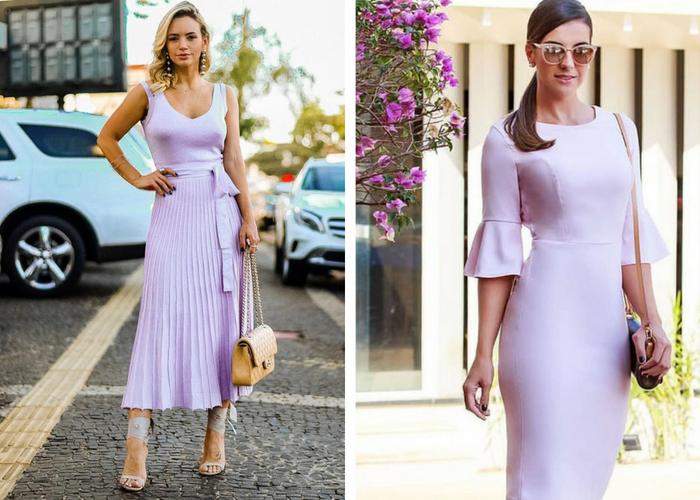 tendência de moda verão 2019 lavanda
